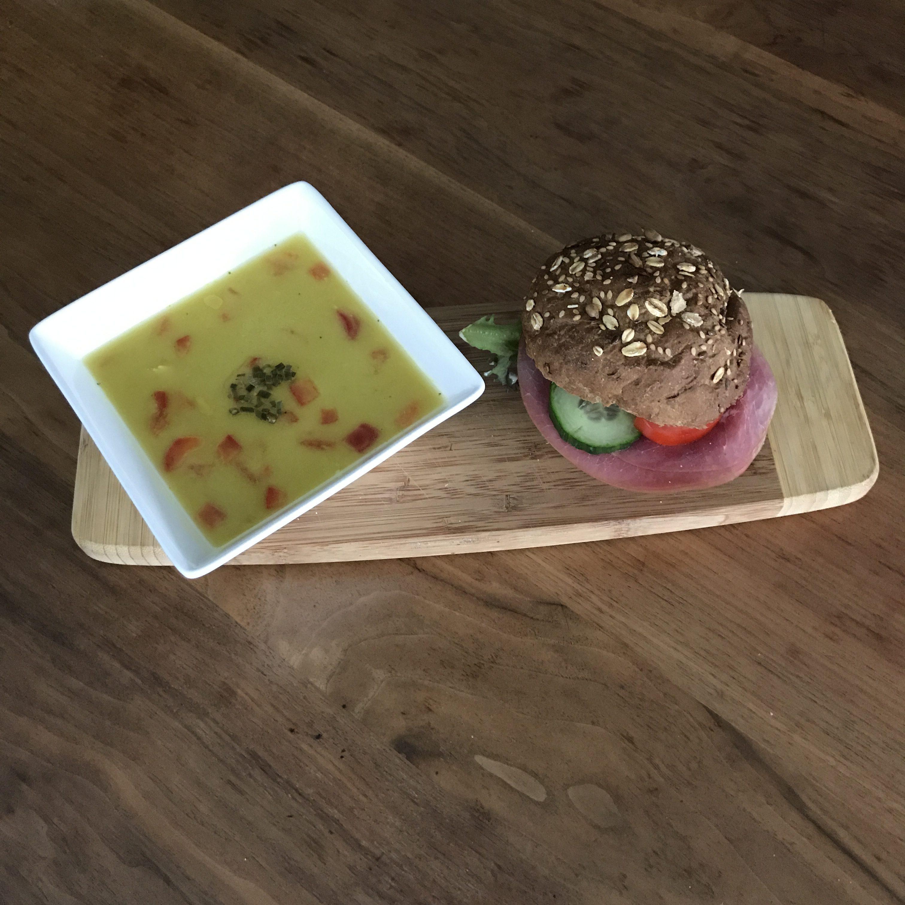 Soep en een broodje van Weidevol